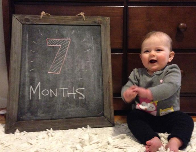 Hannah at Seven Months