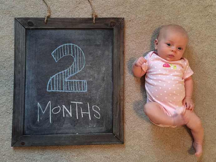 Campbell at 2 months