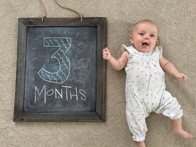 Campbell at 3 months