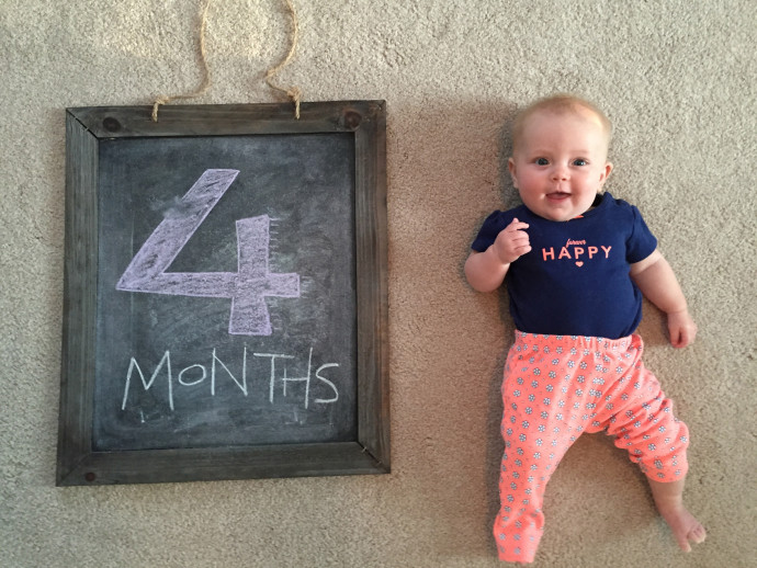 Campbell at 4 months
