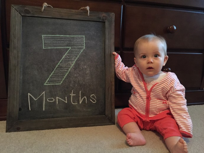 Campbell at 7 months