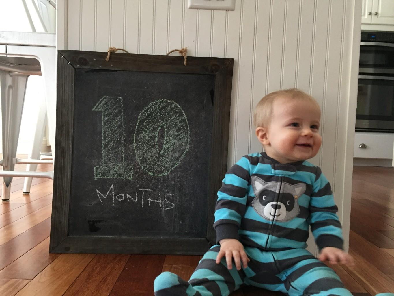 Noah at 10 months